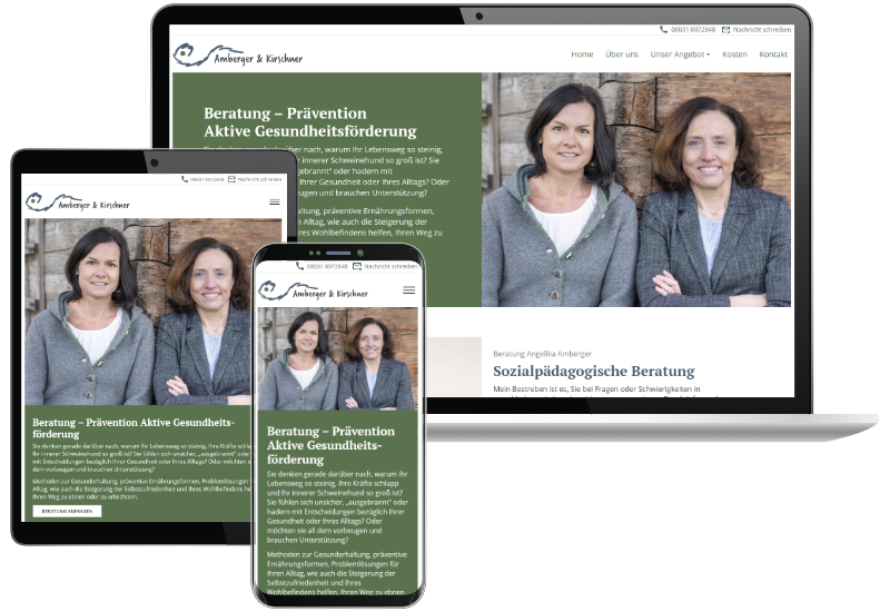 Webdesign aus Rosenheim | Beartung - Prävention